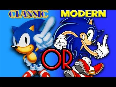 sonic classic or modern