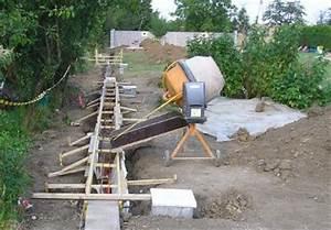 Fondation Mur Parpaing : fondation muret forum ma onnerie fa ades syst me d ~ Premium-room.com Idées de Décoration