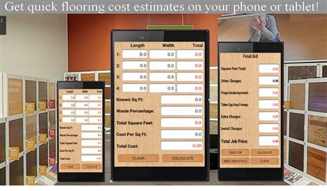 flooring bid calculator android apps on play