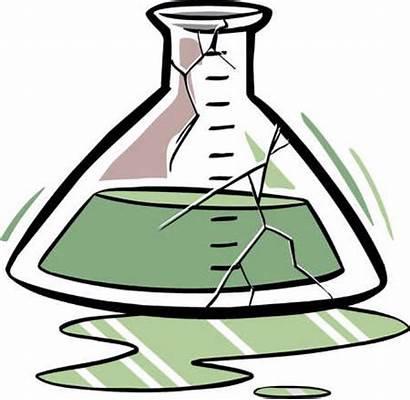 Broken Glass Clipart Injury Beaker Science Cracked