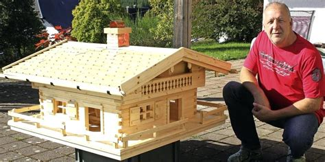 Bauanleitung Vogelhaus Holz by Vogelhaus Aus Holz Selber Bauen Nistkasten Selber Bauen