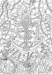 Anchor Printable Adult Coloring Page From Favoreads