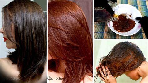 natural brown hair dye  homemade  simple
