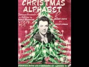 Count By Age Chart Dickie Christmas Alphabet 1955 Youtube