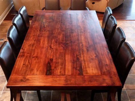 Wooden Tabletop Kitchen by How To Build A Dining Room Table 13 Diy Plans Guide