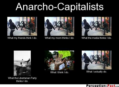 Anarcho-Capitalists... - What people think I do, what I