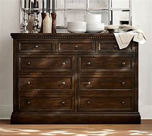 banks buffet pottery barn With banks bed pottery barn