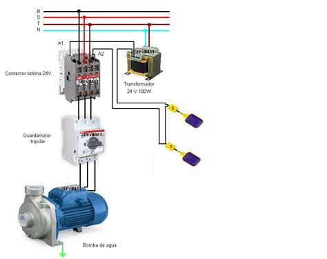 flotador electrico conexion en trifasica yoreparo