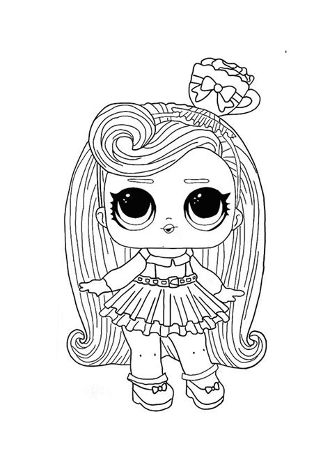 LOL Hairvibes Darling coloring page in 2020 Cool