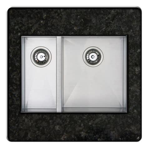 brown kitchen sink bluci kube 1834 inset or undermount 1 5 bowl kitchen sink 1834