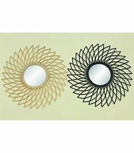 Miroir Rotin Noir : miroir rotin noir rond soleil ~ Melissatoandfro.com Idées de Décoration