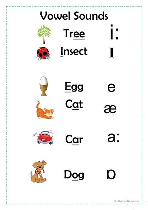 printable worksheets vowel sounds vowel sounds worksheet free esl printable worksheets