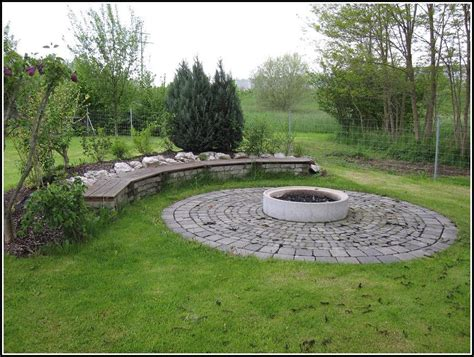 Feuerstelle Garten Anlegen  Garten  Hause Dekoration