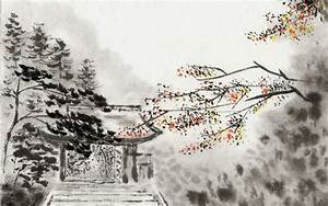 Best Chinese-Style Ink Painting Landscape HD Wallpaper | J ...