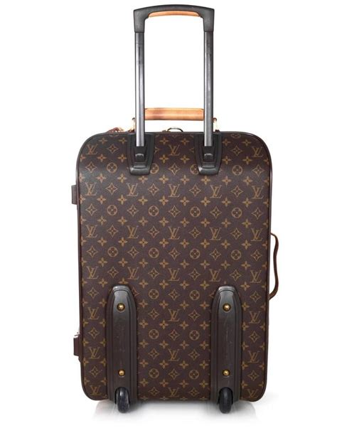 louis vuitton monogram pegase  rolling luggage wheely  sale  stdibs
