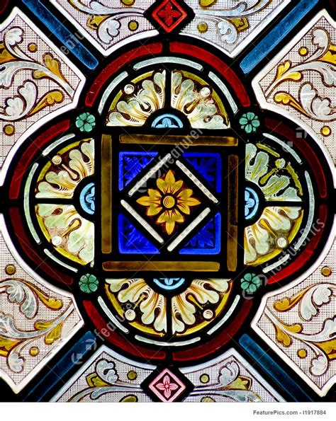 stained glass stock image   featurepics