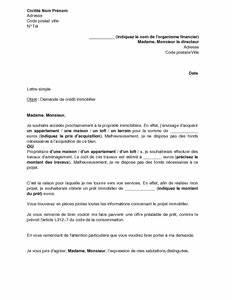 Delai Reponse Banque Pour Pret Immobilier : modele lettre de demande une lettre exemple jaoloron ~ Maxctalentgroup.com Avis de Voitures