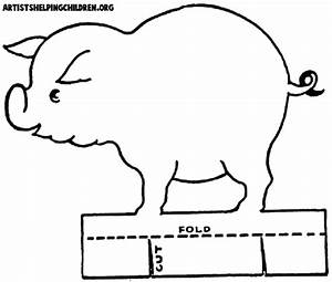 Pig crafts for kids ideas for arts and crafts projects for Pig template for preschoolers