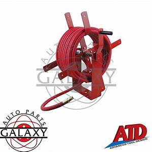 Atd Heavy Duty Manual Air Hose Reel  31160