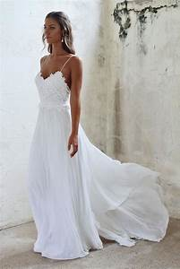 Beach wedding dresses looking stunning for the event my for Looking for a dress to wear to a wedding