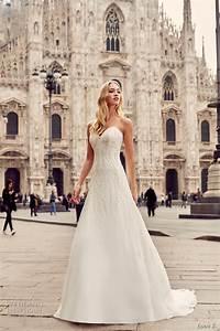 Eddy k 2017 wedding dresses milano bridal collection for Milano wedding dresses