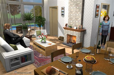 Floor Plan Software Windows by Sweet Home 3d Draw Floor Plans And Arrange Furniture Freely