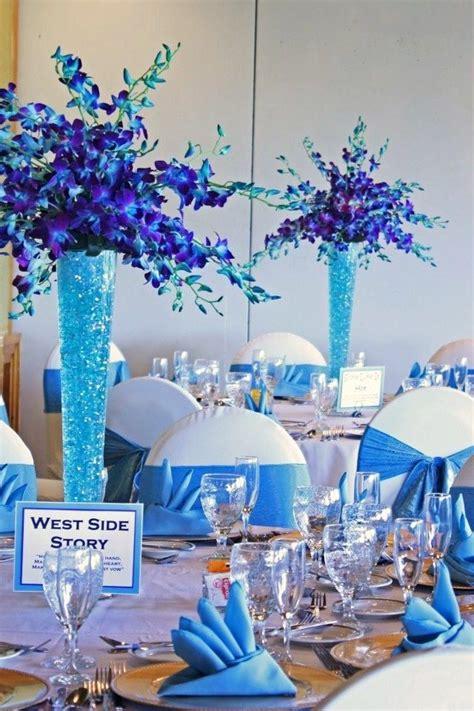1000 ideas about blue wedding centerpieces on pinterest