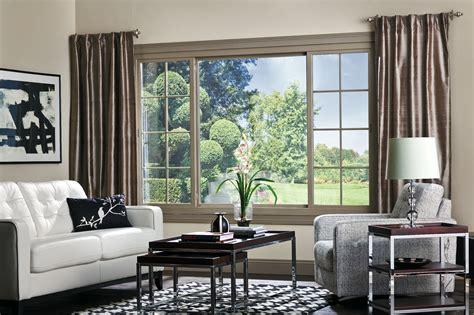 elegant sliding windows  stunning interiors