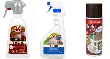 huile pour teck huile pour teck et degrisant teck en spray v33 syntilor