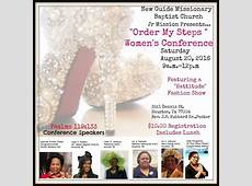 Womens Conference Order My Steps at New Guide Missionary