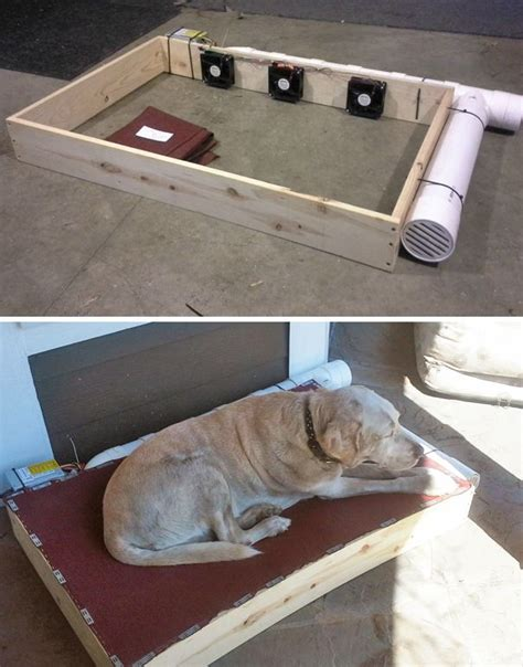 ideas  air conditioned dog house