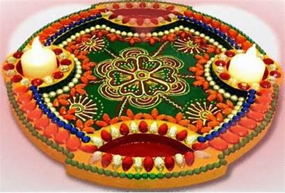 Thali Decoration Aarti Diwali Designs Ki Simple