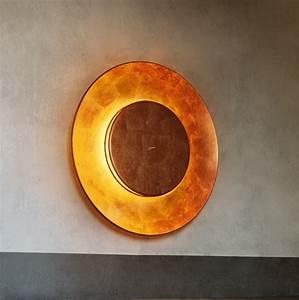 Applique Murale Cuivre : applique murale lunaire cuivre 75cm fontana arte ~ Melissatoandfro.com Idées de Décoration