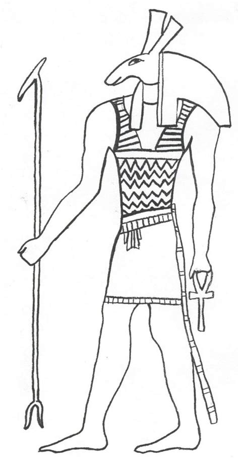 printable ancient egypt coloring pages  kids