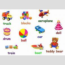 English Exercises Toys