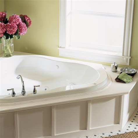 Discount Corner Tubs by Everclean 60 In X 60 In Corner Whirlpool Tub American