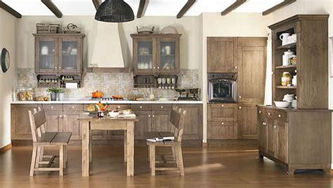 las cocinas de estilo rustico