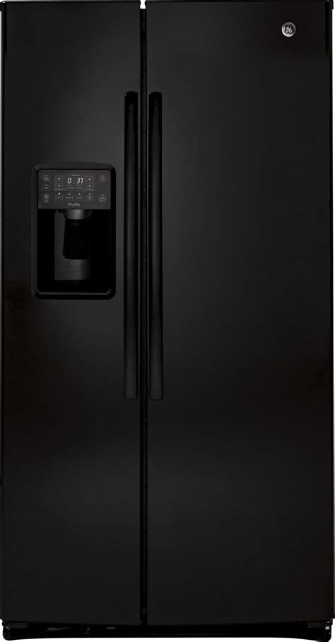 psekghbb ge profile series  cu ft side  side refrigerator black