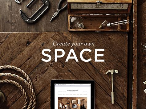 Create Your Own Space By Billy Sweeney Dribbble