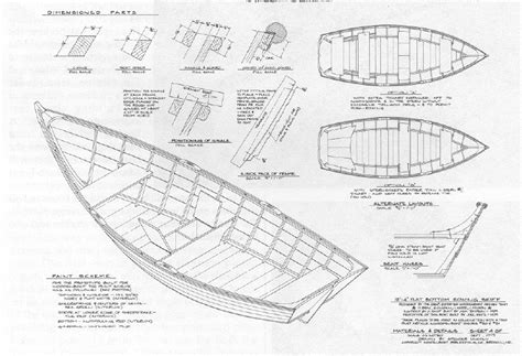 Free Wooden Boat Plans by Dory Boat Plans Building Small Wooden Boats Ysopaxif