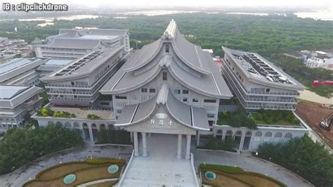 aerial shot  buddha tzu chi pik mall july   youtube