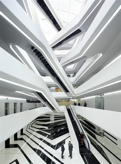 Dominion Office Building in Moscow  Zaha Hadid Architects