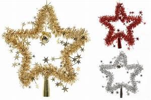 Christbaumspitze Stern Beleuchtet : christbaumspitze stern lametta 24 cm rot gold silber weihnachtsbaum spitze weihnachten ~ Whattoseeinmadrid.com Haus und Dekorationen