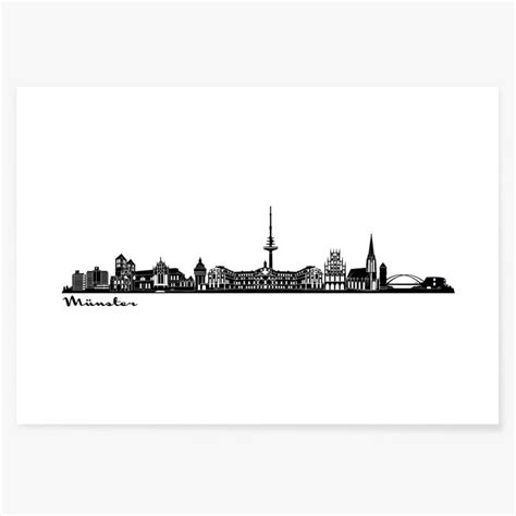 poster skyline muenster