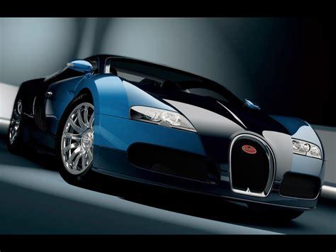 Bugatti Veyron Blue Cool Car Wallpapers