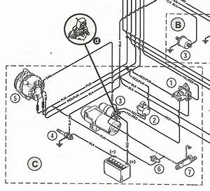 6 Best Images Of 3 0 Mercruiser Starter Wiring Diagram