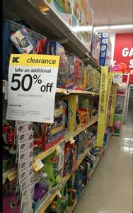 Kmart Toy Clearance Sale