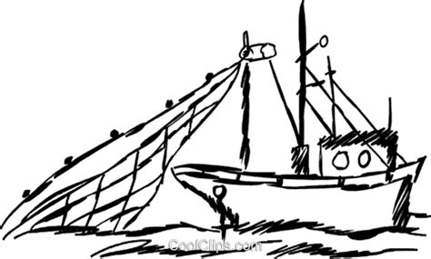 Commercial Fishing Boat Clip Art by Fisheries Clipart Clipground