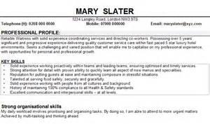 resumes skills and abilities customer service restaurant waitress resume trend bloguez com