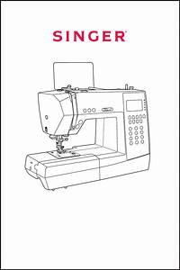 Singer Sewing Machine H74 User U0026 39 S Guide